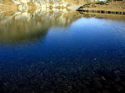 Снимка на едно от красивите Рилски езера